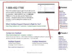 Hubspot Number
