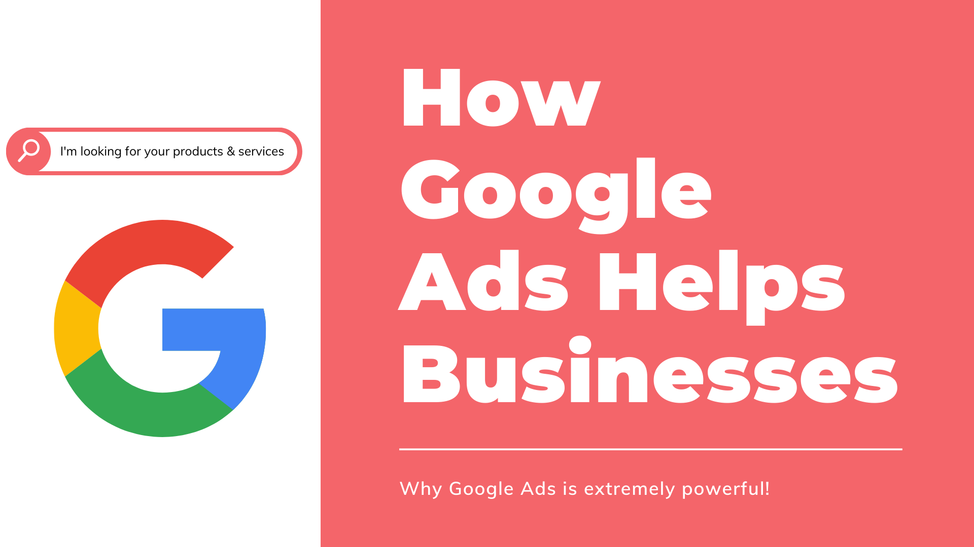 How Google Ads Benefits